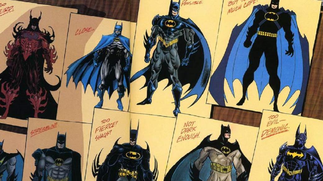30марта 1939 года впродажу поступил Detective Comics #27— комикс, вкотором впервые появился Темный рыцарь. Втечение всего марта мыбудем публиковать различные материалы обистории Бэтмена. Засвою долгую карьеру борца спреступностью Бэтмен постоянно менял свое облачение— как визуально, так итехнологически. Освойствах икачествах Бэт-костюма иопрочих гаджетах поговорим вдругой раз, апока встречайте галерею 53-х костюмов изкомиксов, мультсериалов, кино иигр.