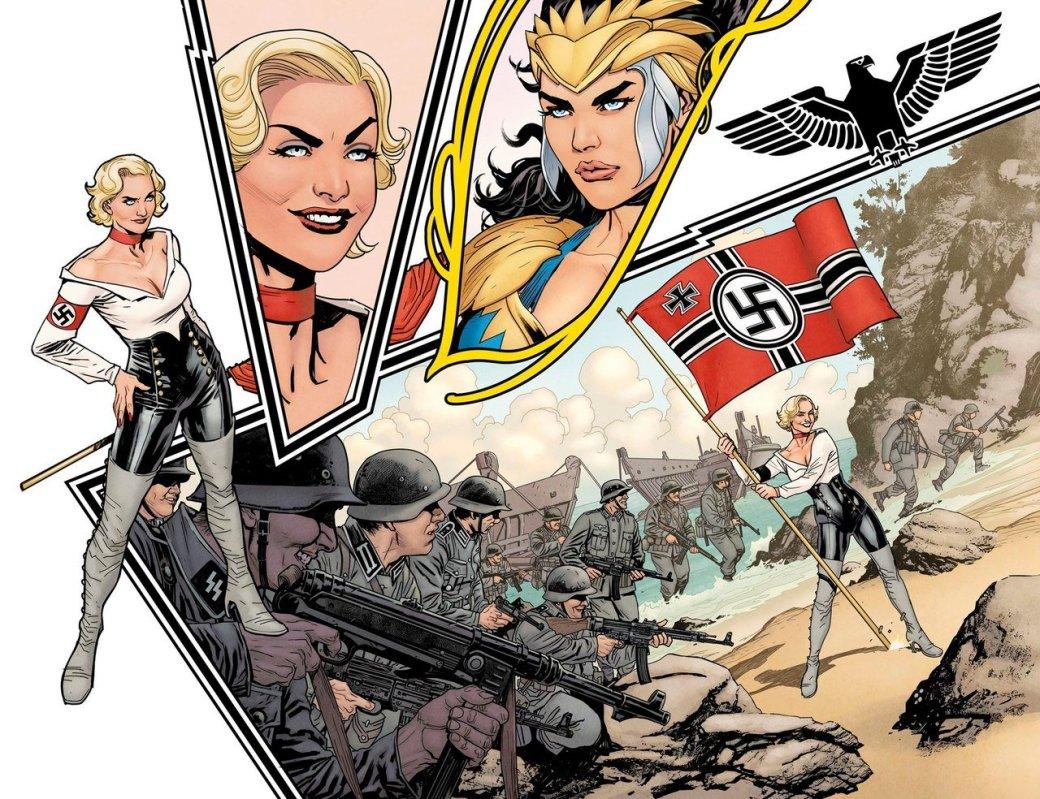 Вновом комиксе оЧудо-женщине амазонки сражаются против нацистов