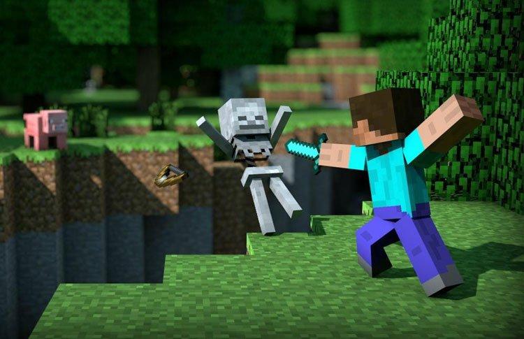 Minecraft обошла Dota 2 по количеству одновременных игроков