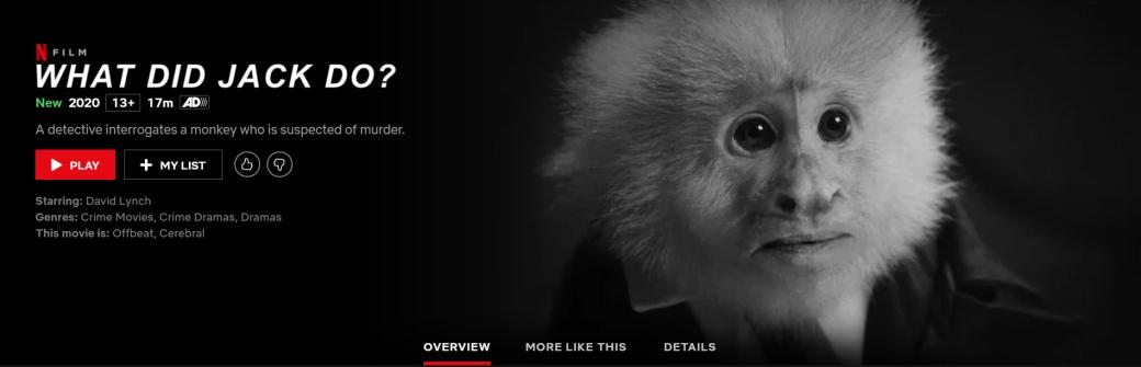 Дэвиду Линчу исполнилось 74 года. В честь этого он выпустил короткометражку на Netflix