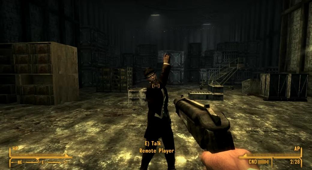 Прощай, одиночество: мультиплеерный режим для Fallout: New Vegas