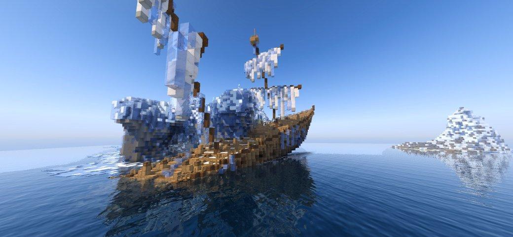 22 млн кубов! Гигантская MMO, которая полностью сделана вMinecraft