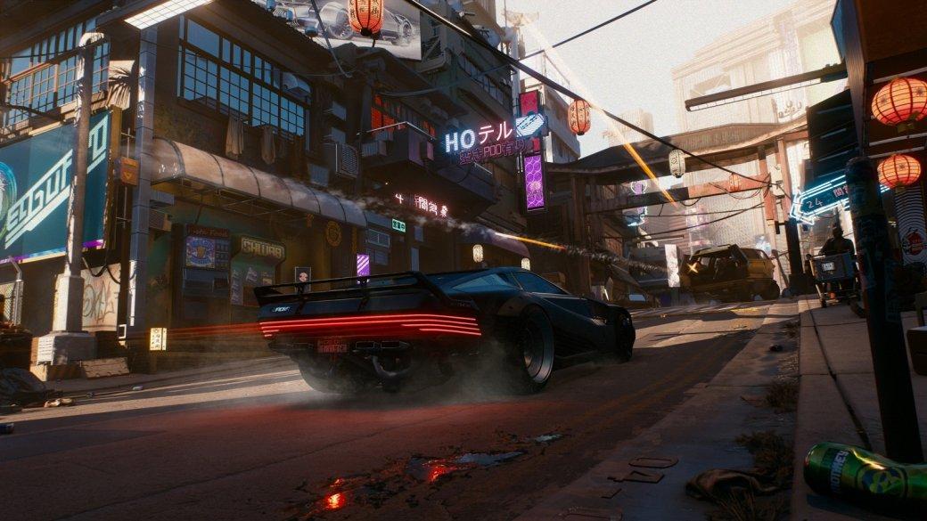ВCyberpunk 2077 уигрока будет собственный гараж сразличными автомобилями имотоциклами