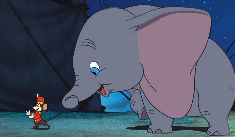 Тим Бертон снимет фильм про летающего слоненка Дамбо