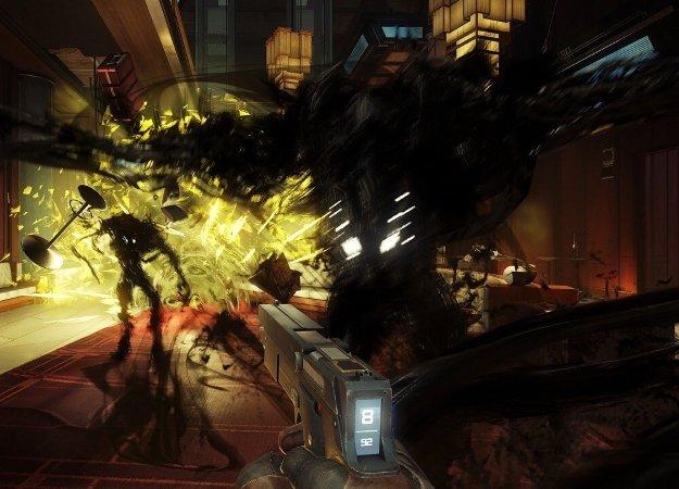 Посмотрите, как выглядит сражение сбоссом-Кошмаром вновой Prey