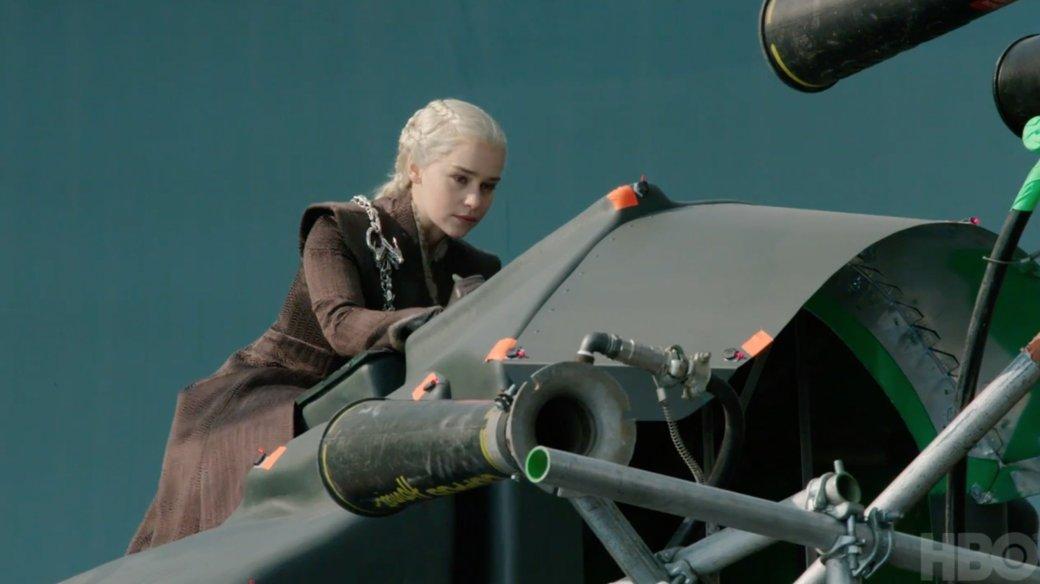 Как снималась битва из 4 серии 7 сезона «Игры престолов»