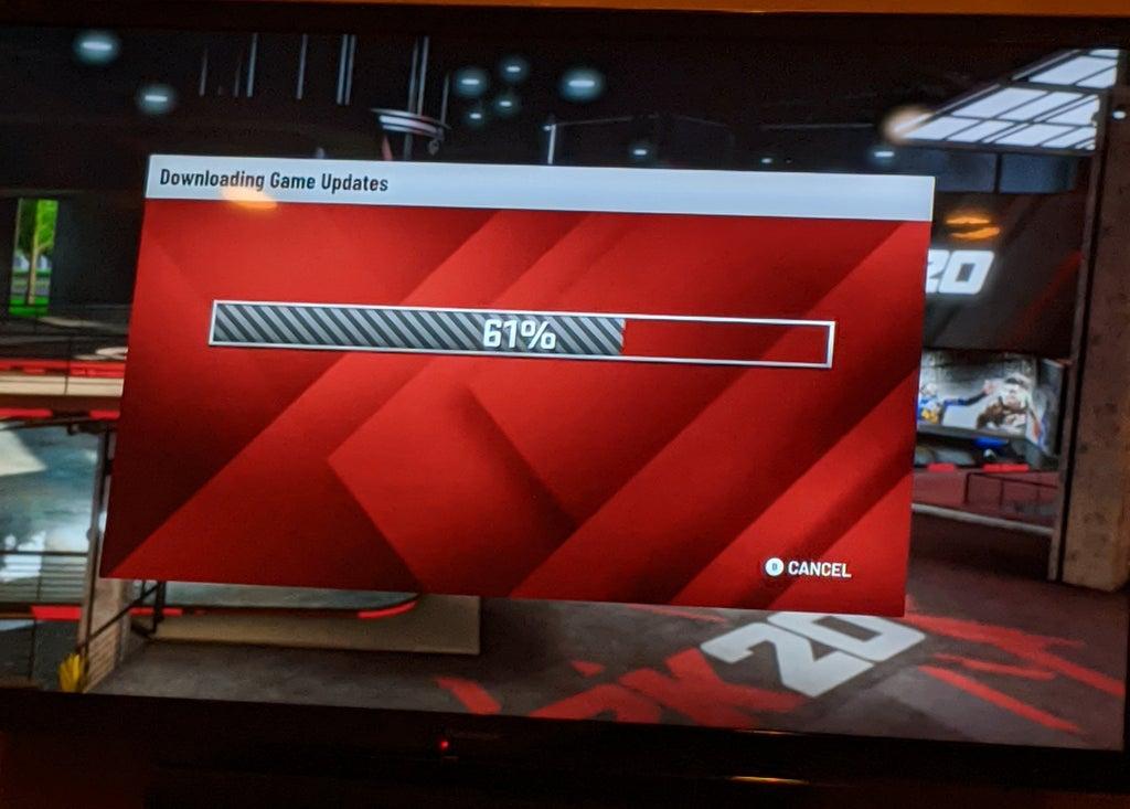 Геймеры увидели, как NBA 2K20 на Google Stadia загружает обновление — так быть не должно