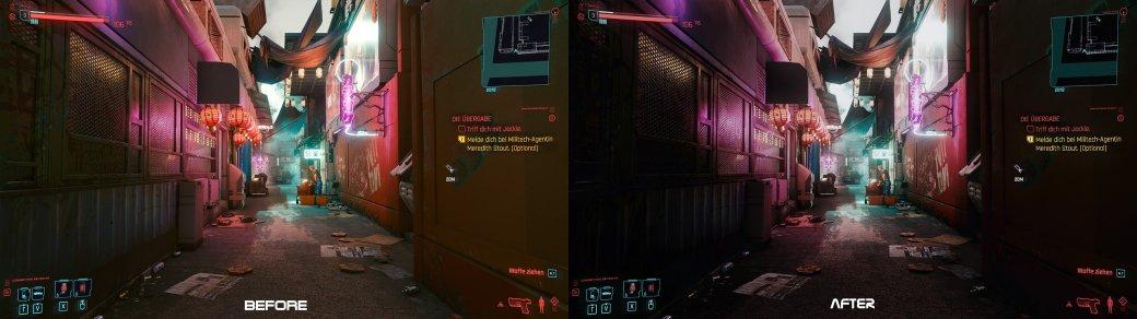 Лучшие моды для Cyberpunk 2077 в2021 году: отизменений графики довида оттретьего лица