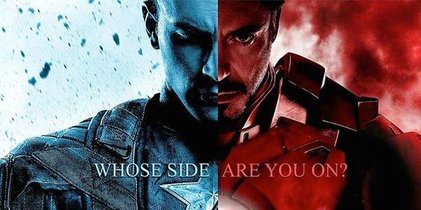 Капитан Америка и Железный человек готовы к «Гражданской войне»