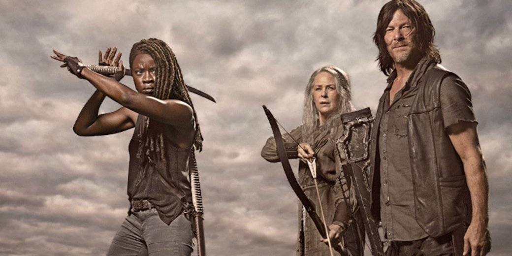 «Ходячие мертвецы» (The Walking Dead)— это сериал, основанный наодноименном черно-белом комиксе Фрэнка Дарабонта. Онрассказывает огруппе людей, которые пытаются выжить посреди зомби-апокалипсиса. Сериал настолько популярен, что AMC постоянно продлевает иего, испин-офф «Бойтесь ходячих мертвецов» (Fear the Walking Dead).
