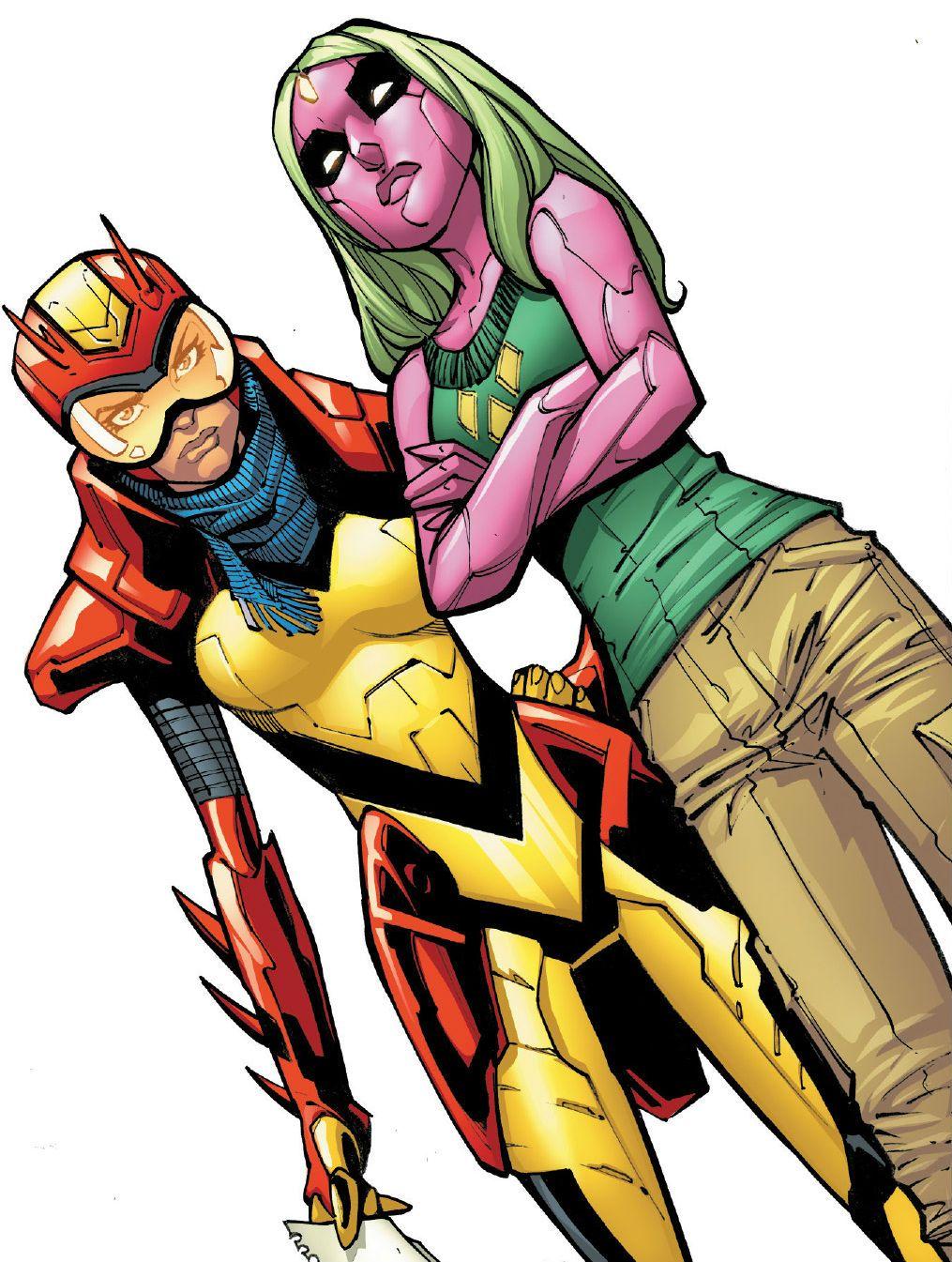Супергерои, появившиеся вэтом десятилетии