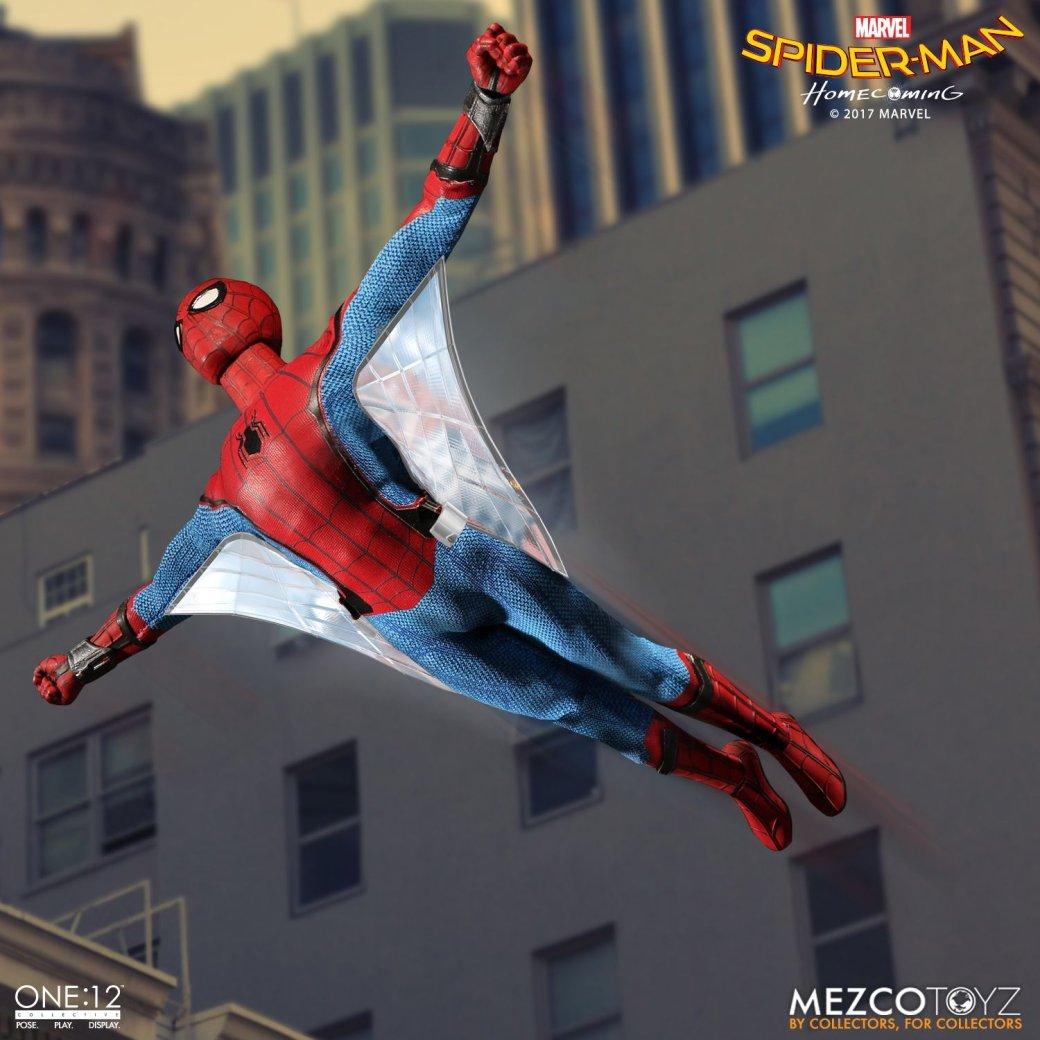 Новая фигурка дружелюбного соседа Человека-паука из«Возвращения домой»
