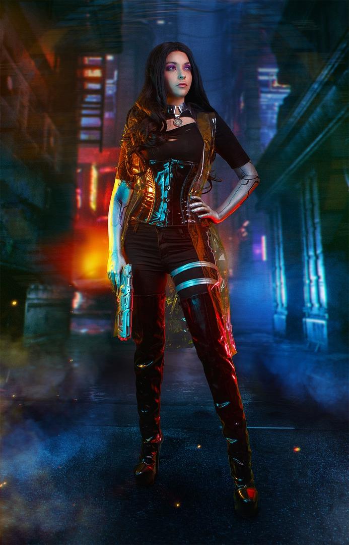 Какбы выглядели Геральт, Йорвет, Шани, Йеннифэр иБьянка вмире Cyberpunk 2077?