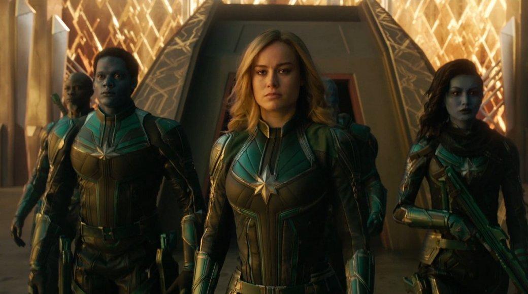 Надежда начинается сгероя: вышел новый промо-ролик «Капитана Марвел»