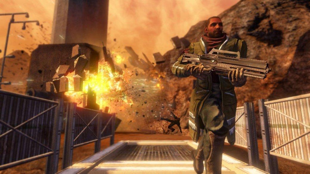 Суть. Red Faction Guerrilla Re-Mars-tered— все еще лучшая игра про взрывы иразрушения