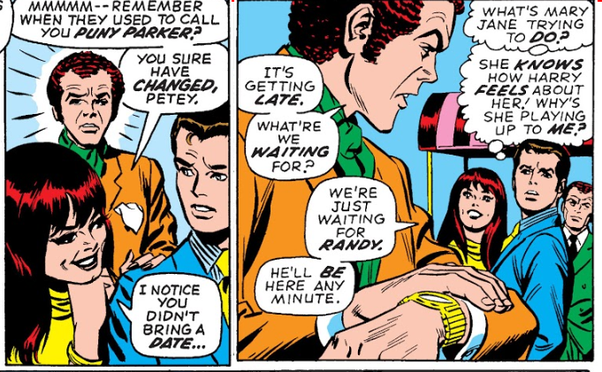 Мэри Джейн Уотсон— жена Человека-паука, модель, помощница Старка. Как менялся образ вкомиксах?