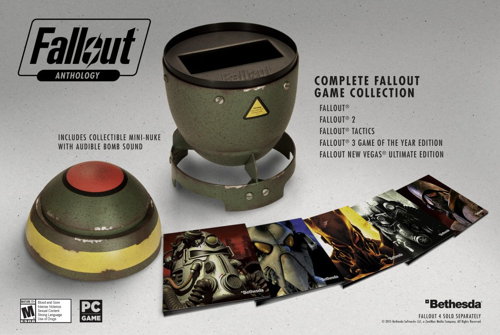 Как теракты в Париже помешали купить антологию Fallout