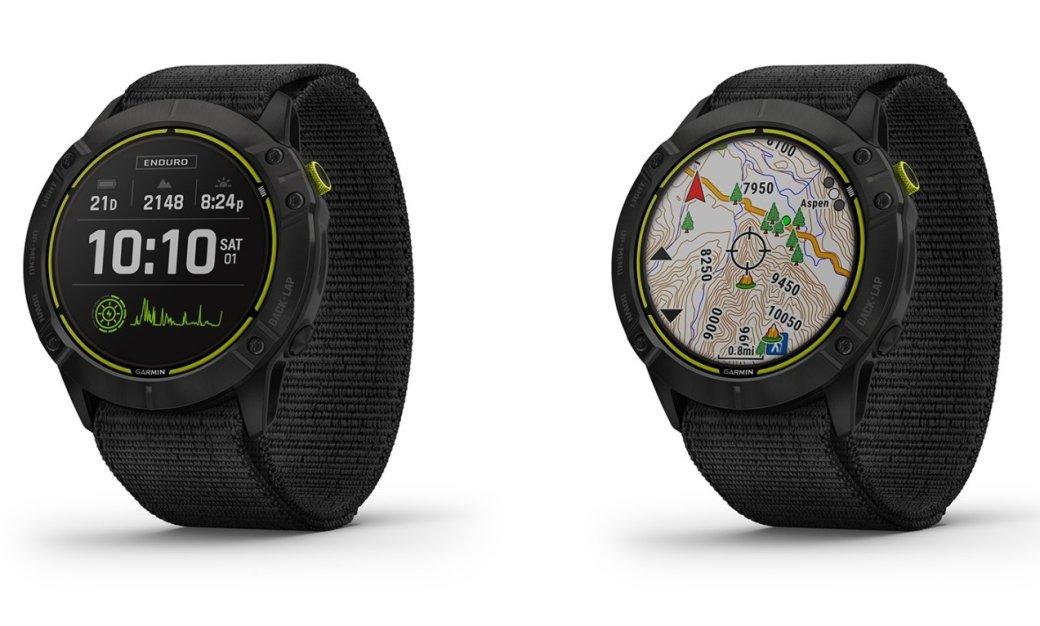 Представлены Garmin Enduro— «умные» часы савтономной работой догода