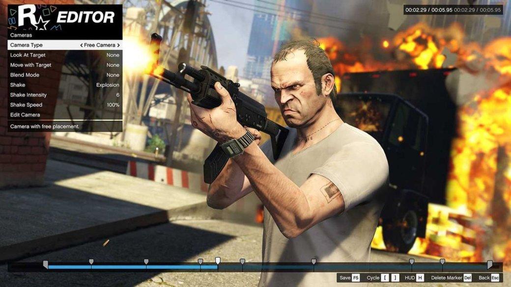 С появлением на консолях Rockstar Editor получит новый функционал