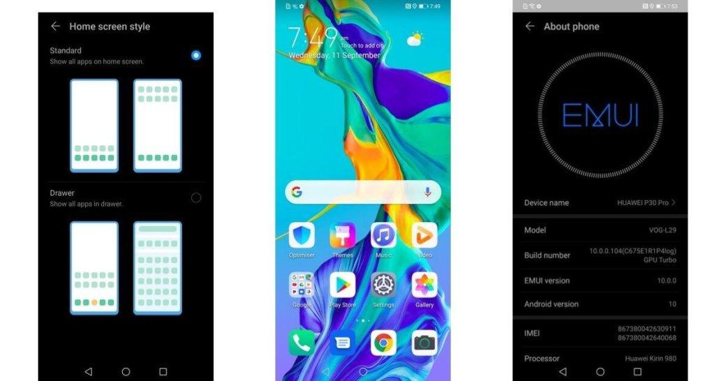 EMUI 10: основные функции новой оболочки Huawei