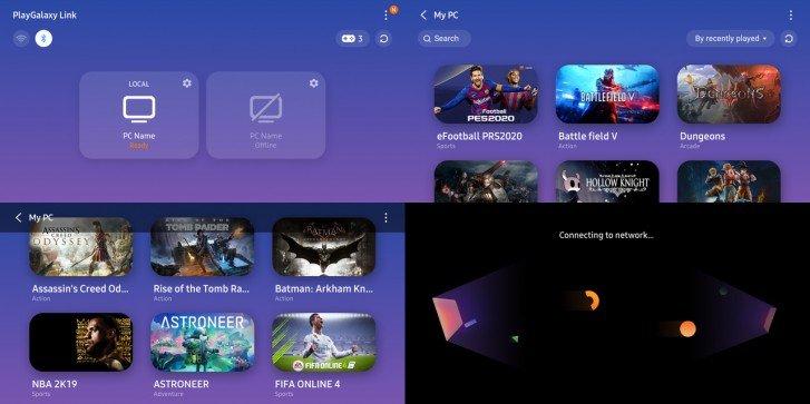 НаSamsung Galaxy Note 10 теперь запускаются игры скомпьютера
