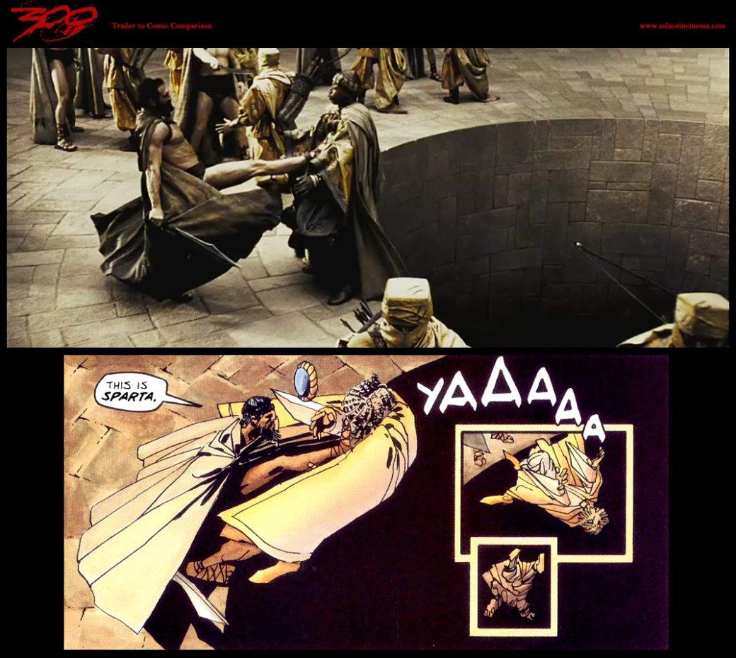 Легендарный вопль «Это Спарта!», оказывается, был импровизацией Джерарда Батлера
