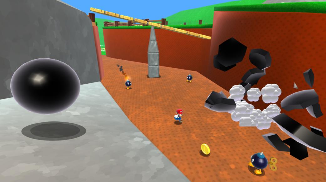 Nintendo растоптала ПК-ремейк Super Mario 64