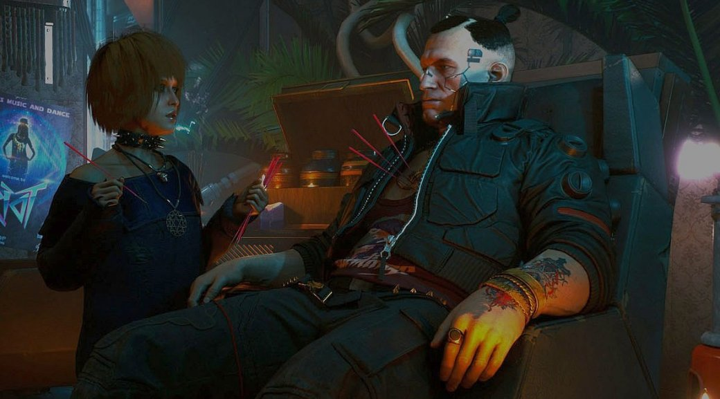 ВCyberpunk 2077 герой может улучшитьвсе. Даже нервную систему