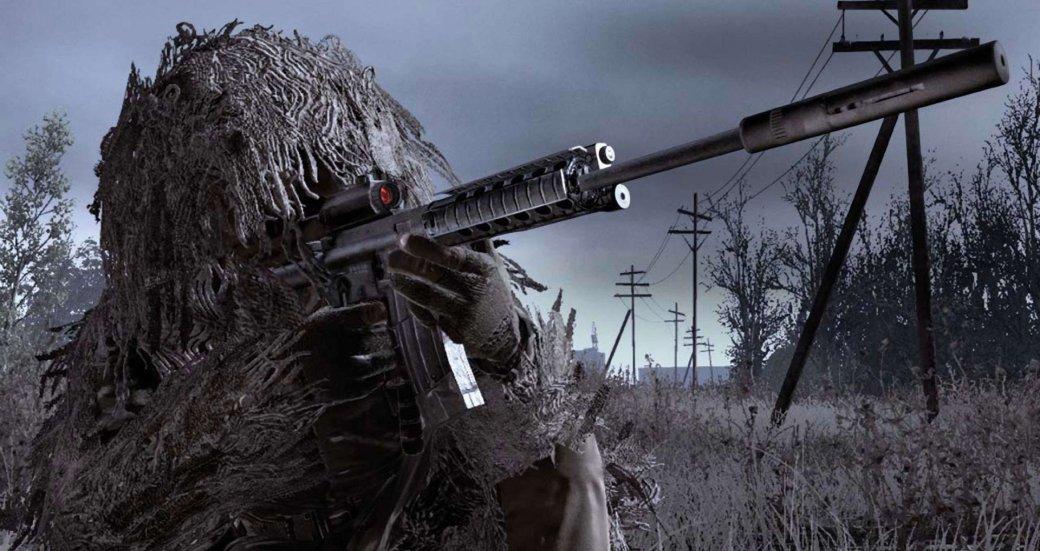 Гифка дня: секретная концовка Call ofDuty 4: Modern Warfare