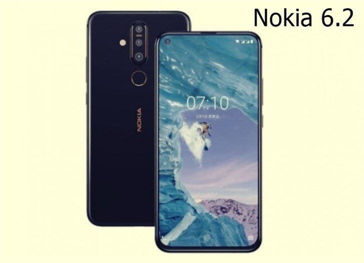 Опубликован первый рендер обновленного смартфона Nokia6.2