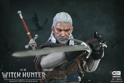 Неплохую пиратскую фигурку Геральта почему-то назвали «Witch Hunter»