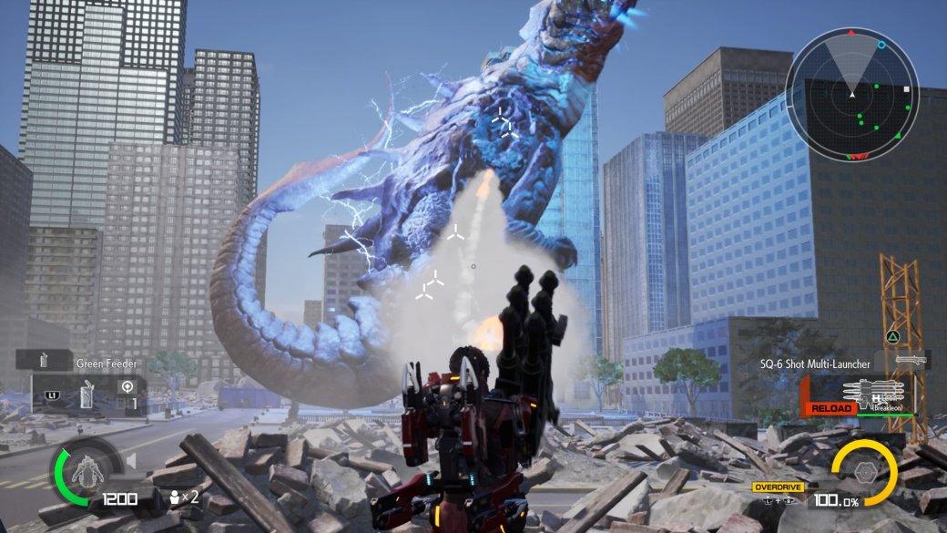Рецензия на Earth Defense Force: Iron Rain