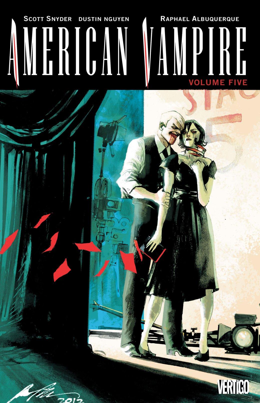 «Американский вампир» Снайдера иАльбукерке закончится в2020 году