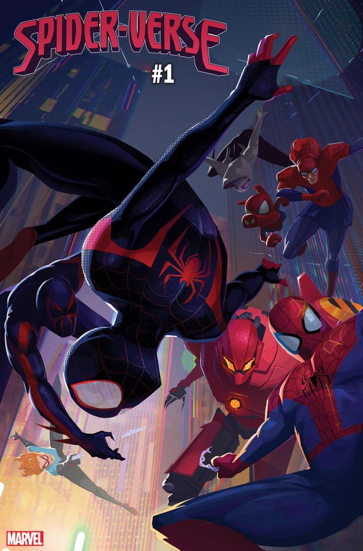 Spider-Verse возвращается! Наэтот раз вцентре сюжета оЛюдях-пауках изразных миров Майлз Моралес