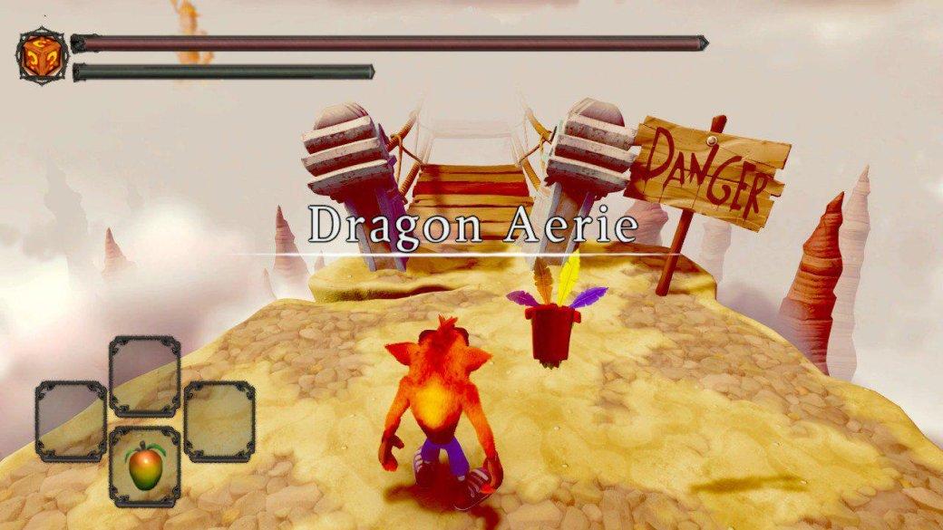Хохма года: «Crash Bandicoot стал Dark Souls»