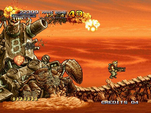 Metal Slug 3 выстрелит на консолях PlayStation