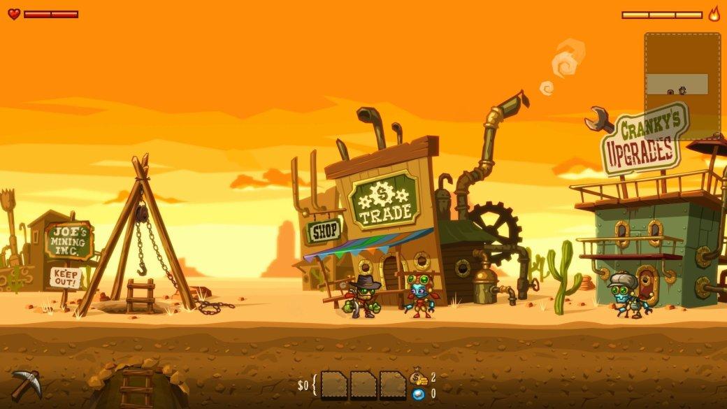 Рецензия на SteamWorld Dig