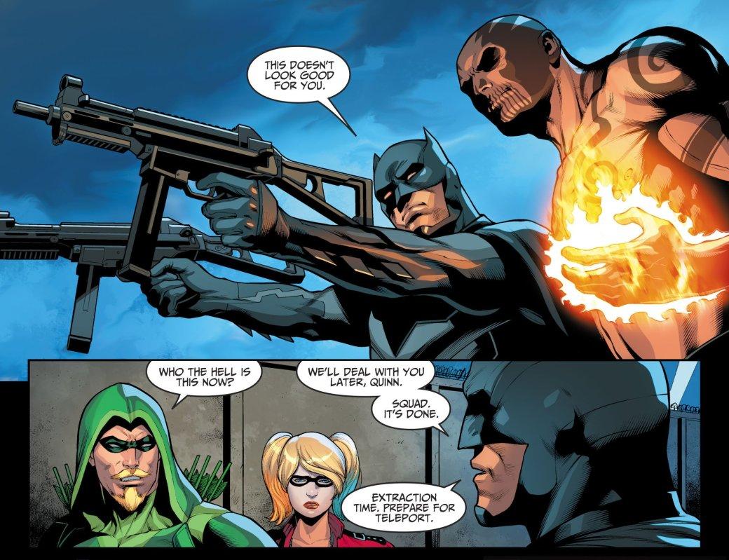 Кто под маской нового Бэтмена в Injustice 2? Разбираем еще одну теорию
