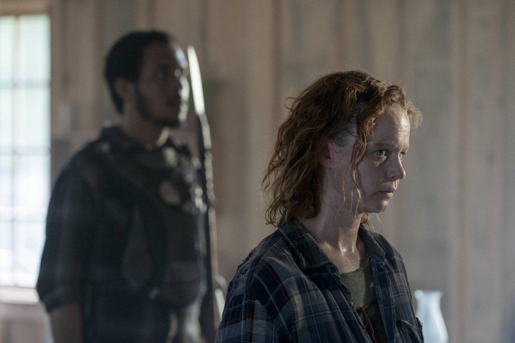 Что показали в10 серии 10 сезона «Ходячих мертвецов». Дэрил против Альфы и бойня в  Александрии