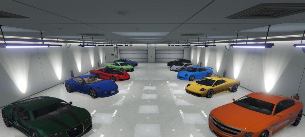 Гифка дня: легкий способ нестоять вочереди напарковку в Grand Theft Auto 5