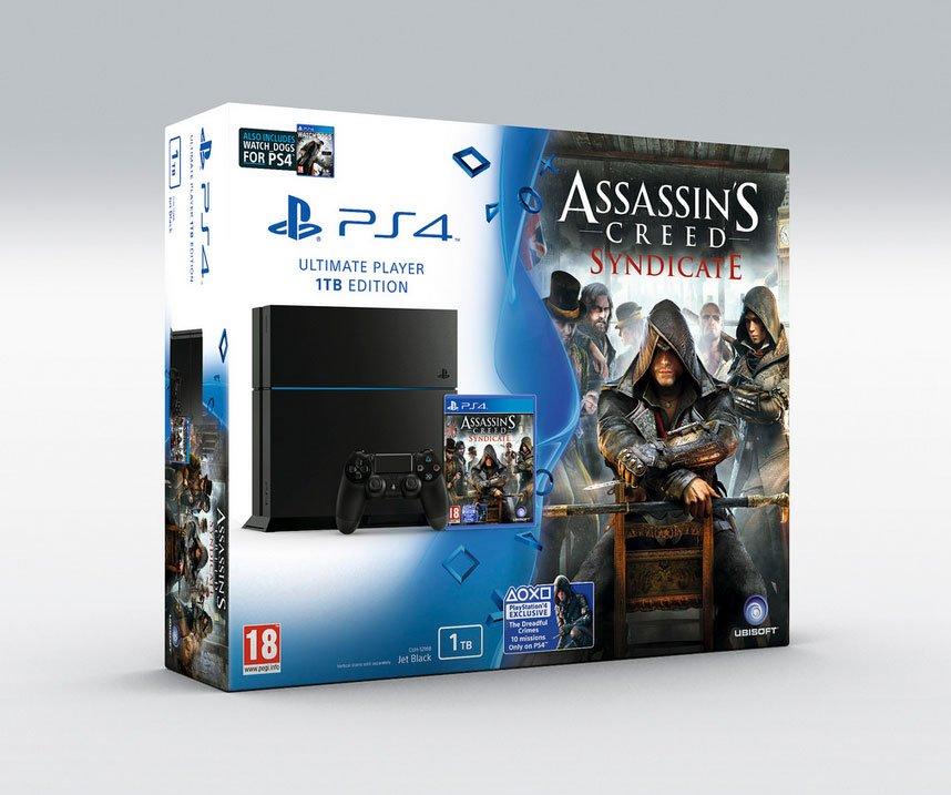 AC: Syndicate на PS4: эксклюзивные миссии и бандл с копией Watch Dogs