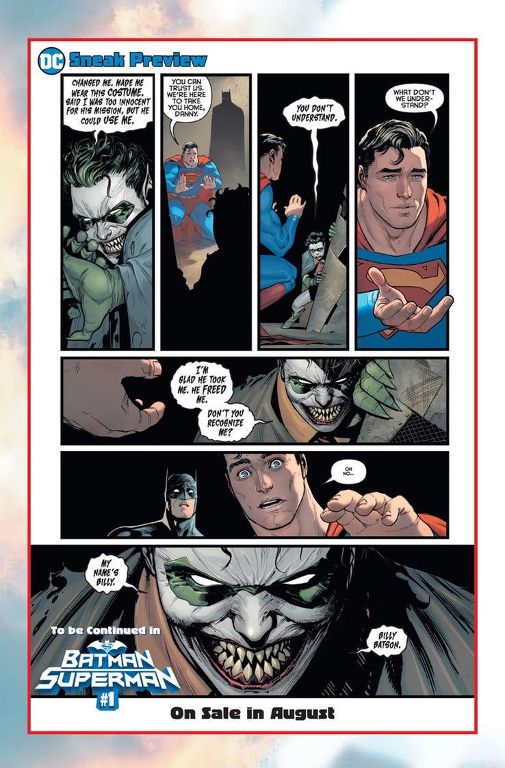 Вновом комиксе оБэтмене иСупермене представят Шазама-Джокера— Билли Бэтсона, зараженного вирусом