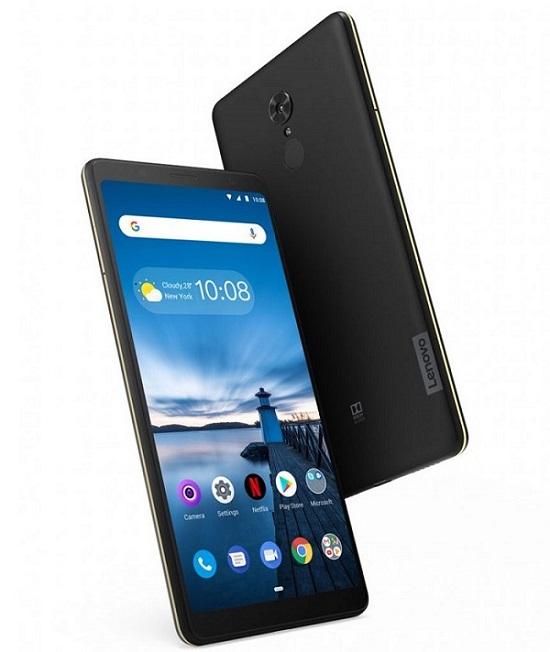 Lenovo показала бюджетный планшетофон Lenovo Tab V7