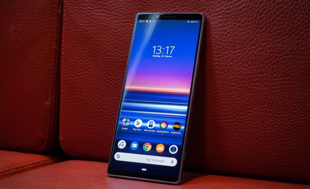 В России стартуют предзаказы флагманского камерофона Sony Xperia 1