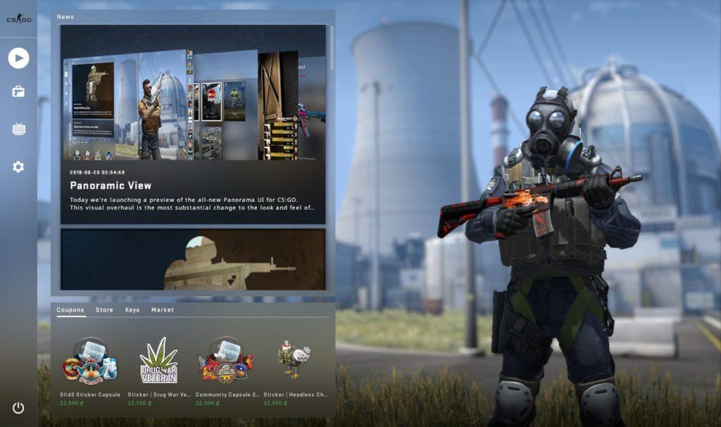 В CS:GO обновили Panorama UI — добавили поддержку голосового чата в лобби и исправили ошибки