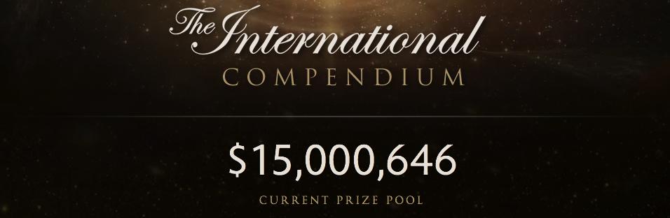 Рекорд: призовой фонд The International 2015 по Dota 2 достиг $15 млн
