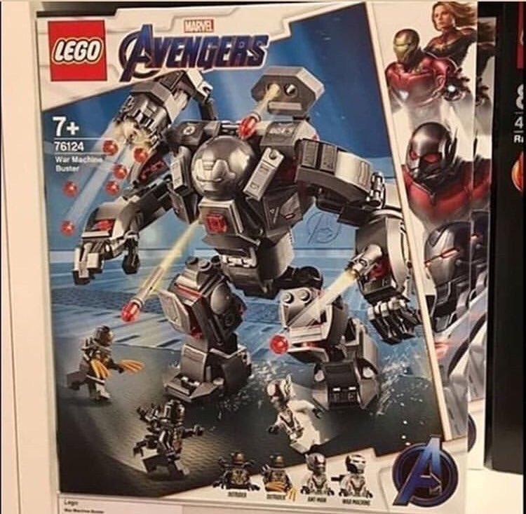 Фото наборов Lego по«Мстителям: Финал» раскрывает вид новой пафосной брони Воителя