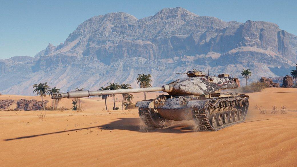 M54 Renegade — награда за марафон в World of Tanks. Если бы не шишка на крыше, танк был бы имбой