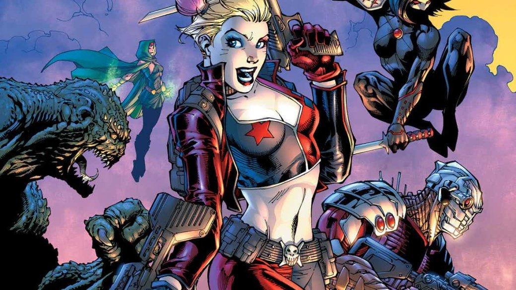 DCвыпустит новый анимационный фильм про Отряд самоубийц!