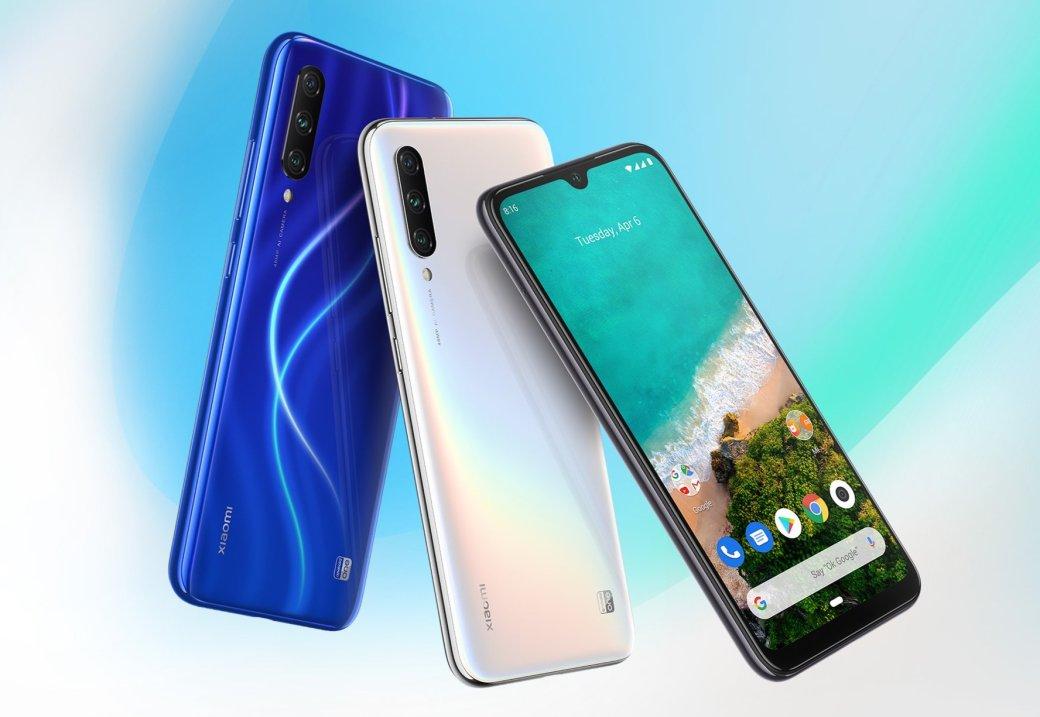 В России вышел Xiaomi Mi A3: бюджетный смартфон стал моделью среднего класса